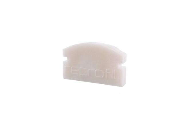 Reprofil Profil Zubehör, Endkappe F-AU-01-08 Set 2 Stk, Kunststoff, Weiß, 14x6mm