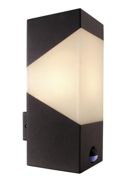 Deko-Light Wandaufbauleuchte, Laya, Aluminium Druckguss, anthrazit, 40W, 230V, 115x100mm