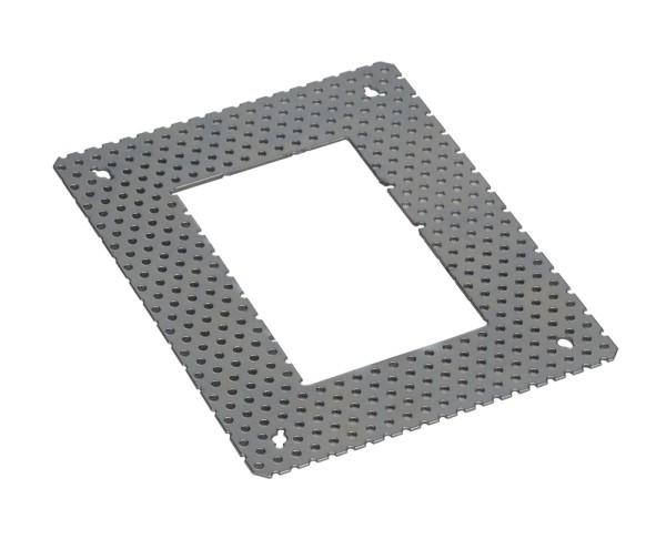 UNTERPUTZRAHMEN, für DOWNUNDER PUR 120, L/H 14/18 cm