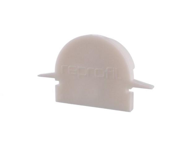 Reprofil Profil Zubehör, Endkappe R-ET-01-12 Set 2 Stk, Kunststoff, Weiß, 27x6mm