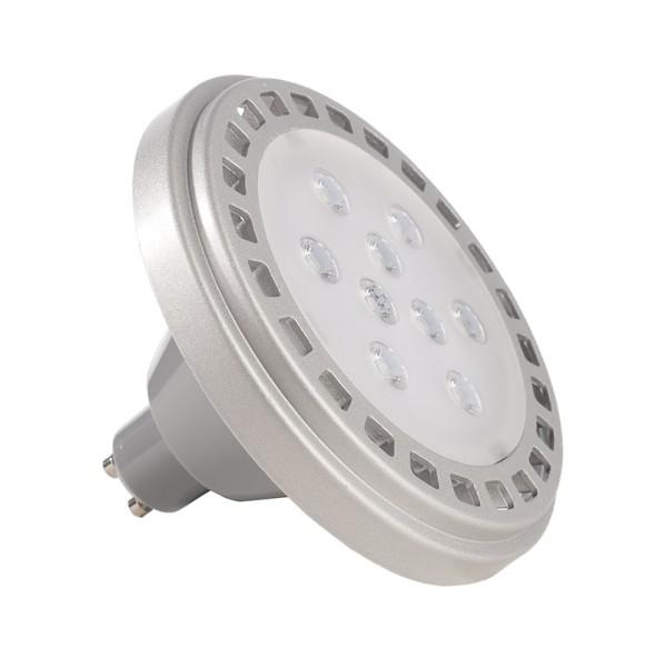 Deko-Light Leuchtmittel, LED ES111 3000K, Aluminium Druckguss, Grau, Warmweiß, 30°, 12W, 230V, 80mm