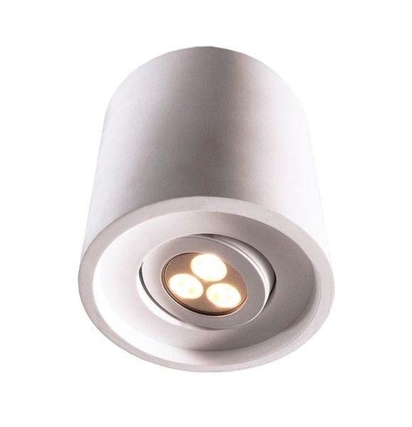 Kapego Deckenaufbauleuchte, Caja II, exklusive Leuchtmittel, spannungskonstant, 220-240V AC/50-60Hz