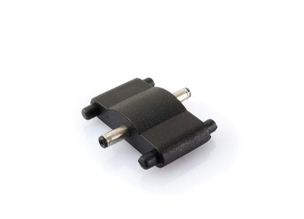 Deko-Light Zubehör, Verbinder gerade 2er Set für C01, Kunststoff, Schwarz, 24V, 16x33mm