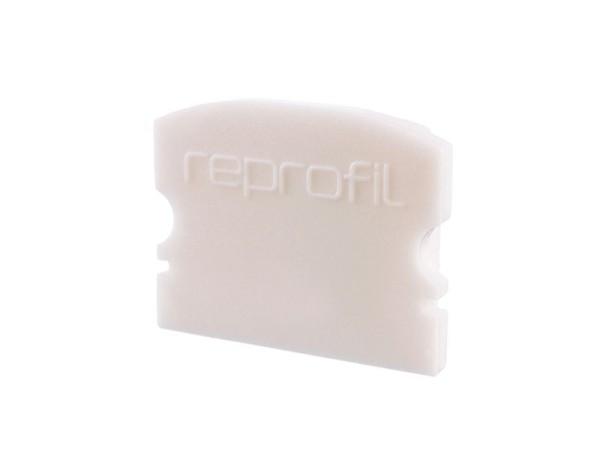 Reprofil Profil Zubehör, Endkappe F-AU-02-15 Set 2 Stk, Kunststoff, Weiß, 21x6mm