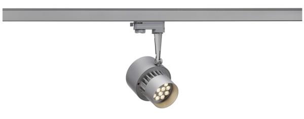 TRACKSPOT, Spot für Hochvolt-Stromschiene 3Phasen, LED, 3000K, silbergrau, 30°