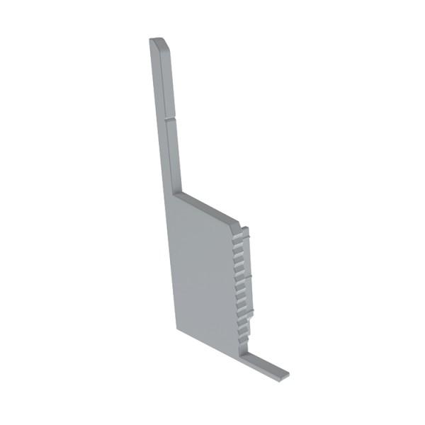 Reprofil, Endkappe P-EL-03-10 Set 2 Stk, Kunststoff, Länge: 45 mm