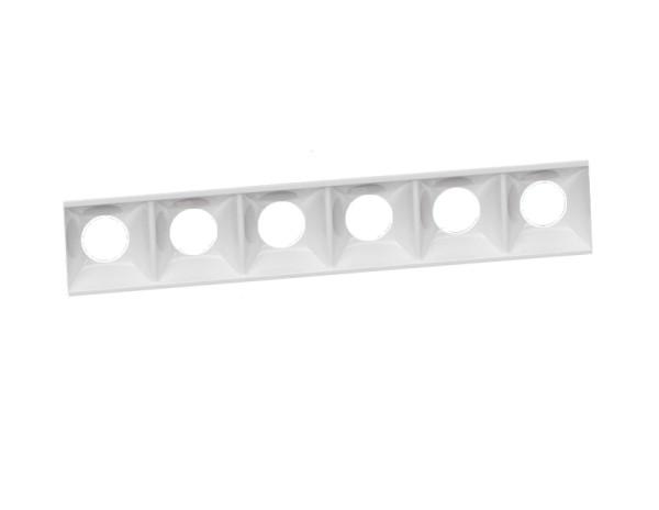 Deko-Light Zubehör, Ceti Spot Anti Glare white, Kunststoff, Weiß, 159x20mm