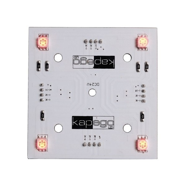Deko-Light Modular System, Modular Panel II 2x2, Aluminium, Weiß, RGB, 120°, 1W, 24V, 65x65mm