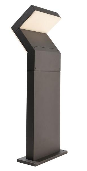 Deko-Light Stehleuchte, Taygeta 600, Aluminium Druckguss, dunkelgrau, Warmweiß, 110°, 16W, 230V